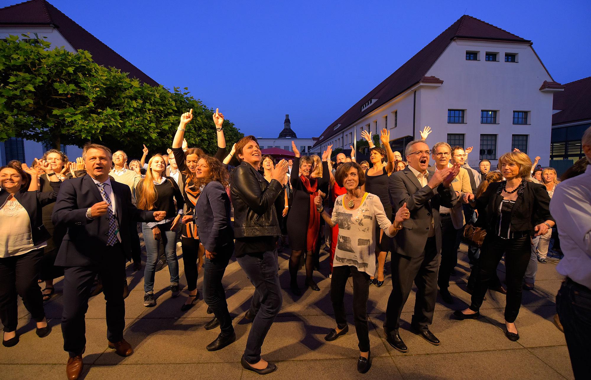 Foto von der Feier